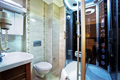 �stanbul hotel bath room with shower